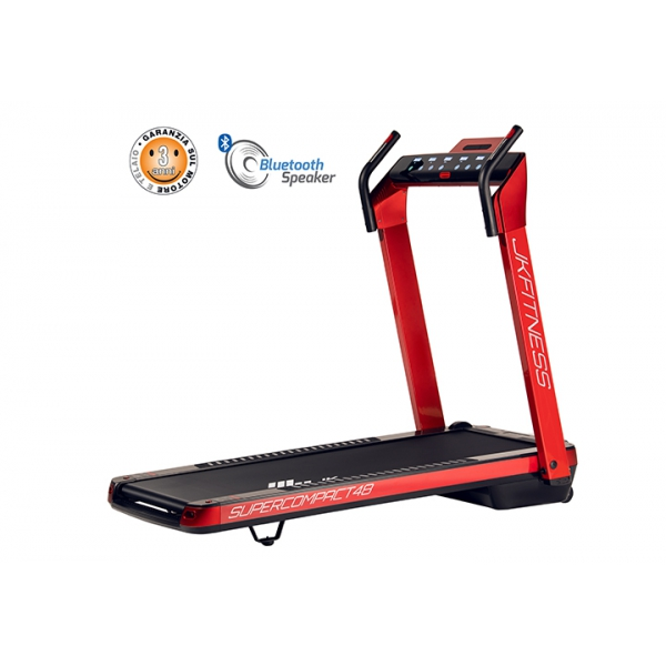 JK FITNESS  Supercompact SC48 RED  Tapis roulant